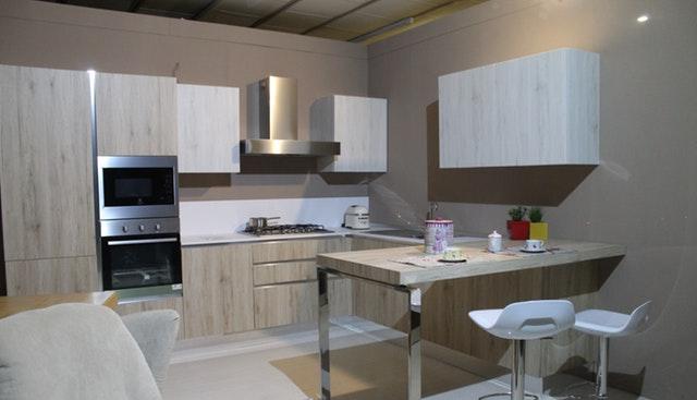 Gray Kitchen Wall Paint Design