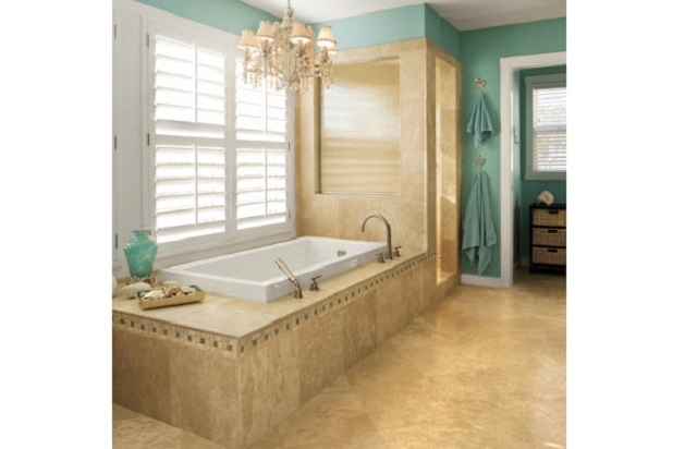 Lite Gold Bathroom Decor Ideas