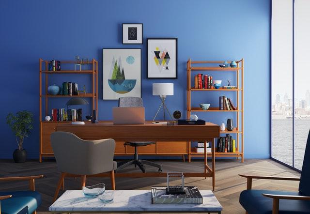 Light Blue Wall Paint Design & color