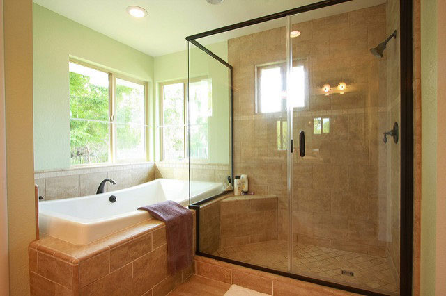 Sand Marble Bathroom Decor Ideas