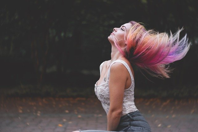 Dye Your Hair in Bright Colors